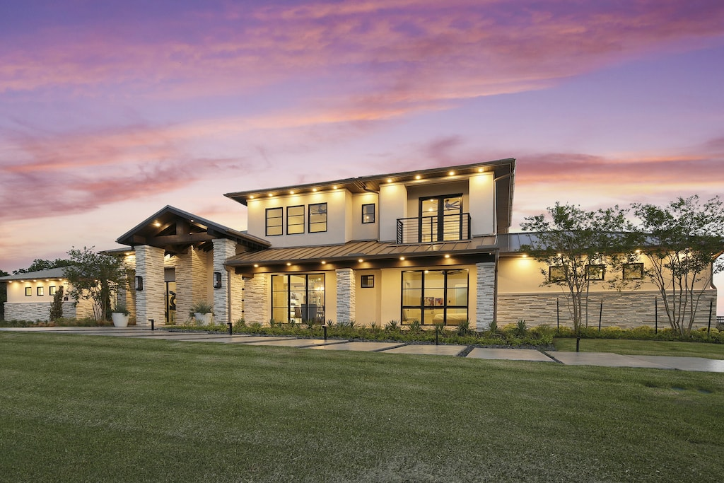 Dallas Real Estate Photography Twilight Sunset 01 4009Starling 001