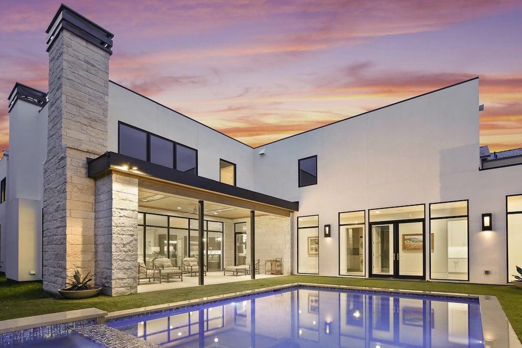 Dallas Real Estate Photography Twilight Sunset 49 4052 Druid 049