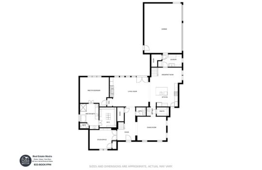 Dallas Real Estate Photography Floor Plans Example 3