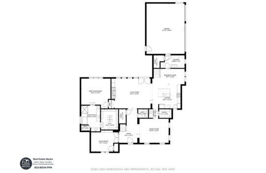 Dallas Real Estate Photography Floor Plans Example 5